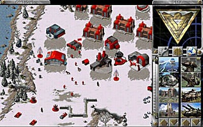 Screen Command & Conquer: Red Alert