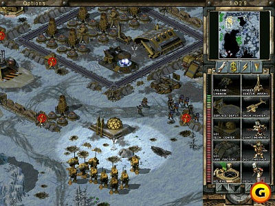 Screen Command & Conquer: Tiberian Sun