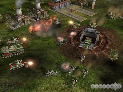 Screen Command & Conquer Generals