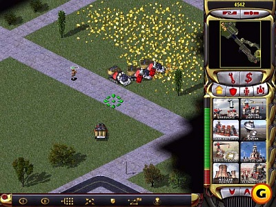 Screen Command & Conquer: Red Alert 2
