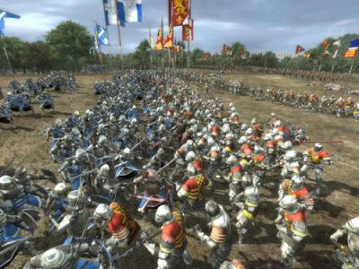 Screen ze hry Medieval II: Total War Kingdoms
