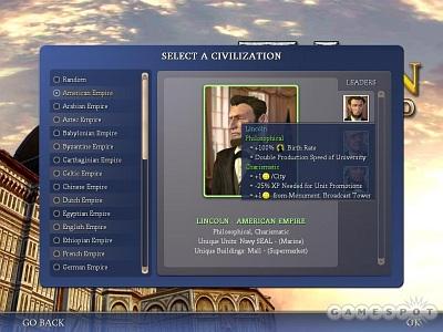 Screen Civilization IV: Beyond the Sword