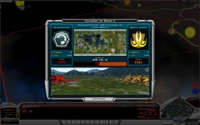 Screen ze hry Galactic Civilizations II: Dread Lords