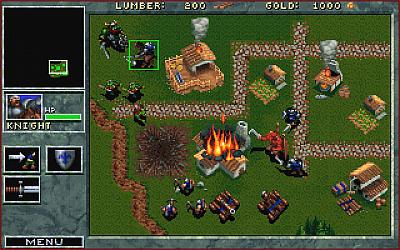 Screen ze hry Warcraft: Orcs & Humans