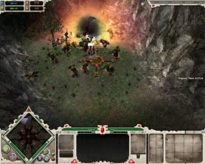 Screen ze hry Warhammer 40,000: Dawn of War -- Dark Crusade