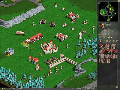 Screen ze hry Warcraft II: Beyond the Dark Portal