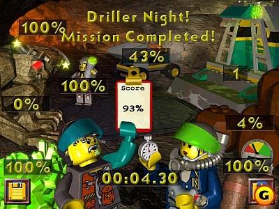 Screen LEGO Rock Raiders