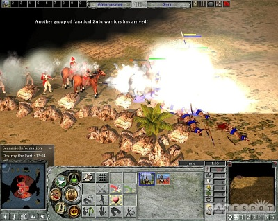 Screen Empire Earth II: The Art of Supremacy