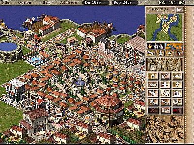 Screen ze hry Caesar III