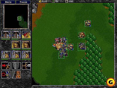 Screen ze hry Warcraft II: Battle.net Edition