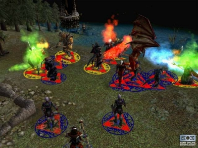 Screen ze hry Lords of EverQuest