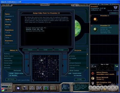 Screen Galactic Civilizations