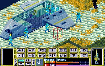 Screen ze hry X-COM: Terror from the Deep