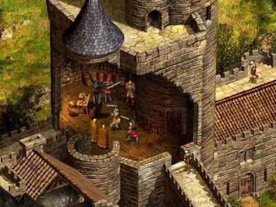 Screen ze hry Robin Hood: The Legend of Sherwood