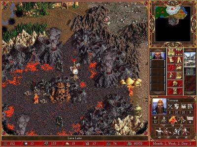 Screen ze hry Heroes of Might and Magic III: The Restoration of Erathia