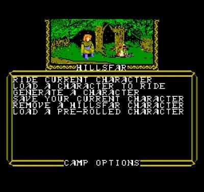 Screen ze hry Hillsfar