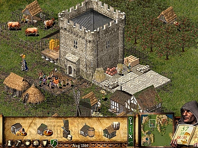 Screen ze hry Stronghold