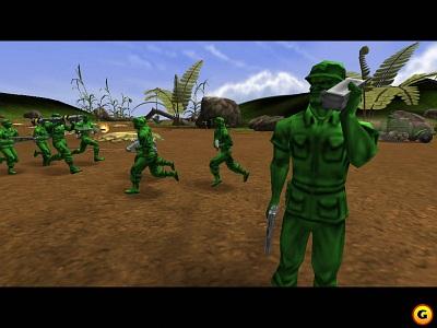 Screen Army Men: RTS