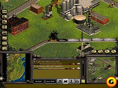 Screen Railroad Tycoon II