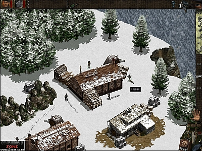 Screen ze hry Commandos: Behind Enemy Lines