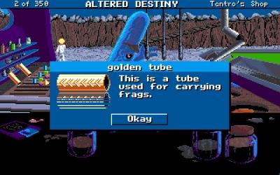 Screen ze hry Altered Destiny