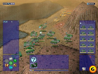 Screen Warzone 2100