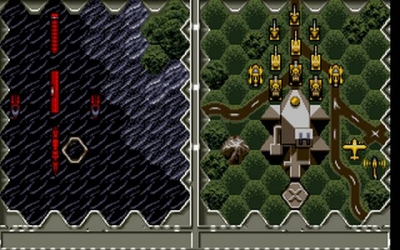 Screen ze hry Battle Isle