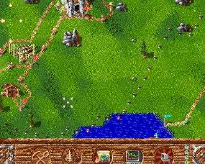 Screen ze hry Settlers, The