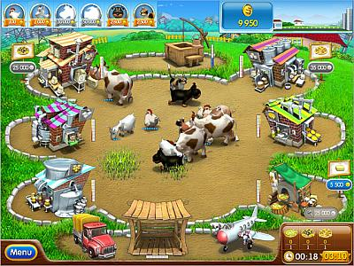 Screen ze hry Farm Frenzy