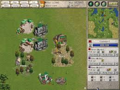 Screen ze hry Seven Kingdoms: Ancient Adversaries