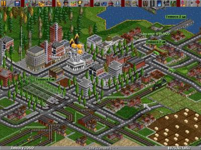 Screen ze hry Transport Tycoon Deluxe