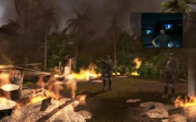 Screen ze hry Tom Clancy´s Rainbow Six: Vegas 2