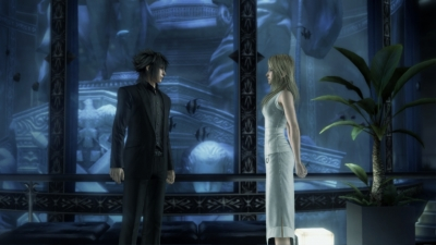 Screen ze hry Final Fantasy Versus XIII