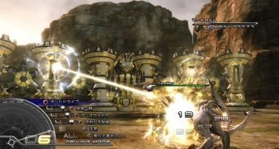 Screen ze hry Final Fantasy XIII