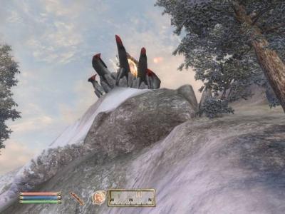 Screen ze hry Elder Scrolls IV: Oblivion, The