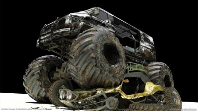 Artwork ke hře MotorStorm: Pacific Rift