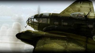 Screen ze hry IL-2: Sturmovik: Birds of Prey
