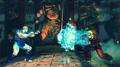 Screen Street Fighter IV