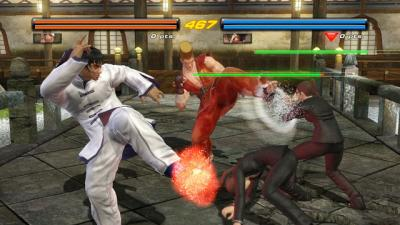 Screen ze hry Tekken 6