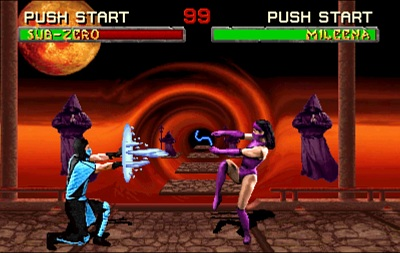 Screen Mortal Kombat II