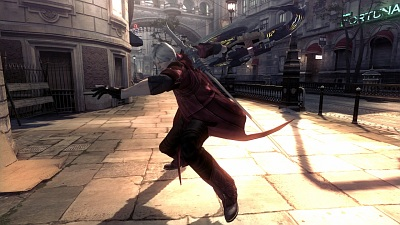 Screen Devil May Cry 4