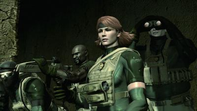 Screen ze hry Metal Gear Solid 4: Guns of the Patriots
