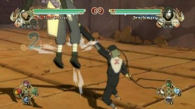 Screen ze hry Naruto: Ultimate Ninja Storm