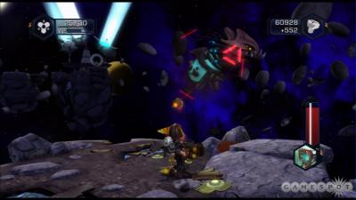 Screen ze hry Ratchet & Clank Future: Tools of Destruction