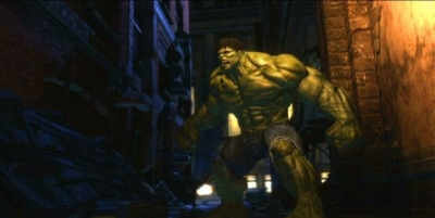 Screen ze hry Incredible Hulk, The