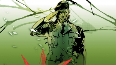 Artwork ke hře Metal Gear Solid 3: Subsistence