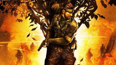 Artwork ke hře Metal Gear Solid 3: Subsistence
