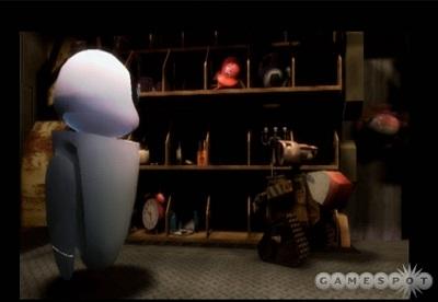 Screen WALL-E