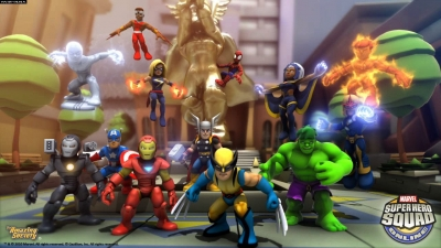 Artwork ke hře Marvel Super Hero Squad