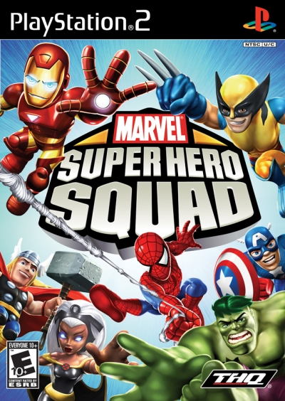 Obal hry Marvel Super Hero Squad